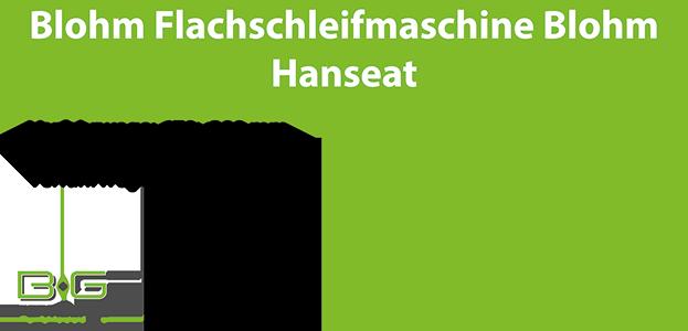 Blohm Flachschleifmaschine
