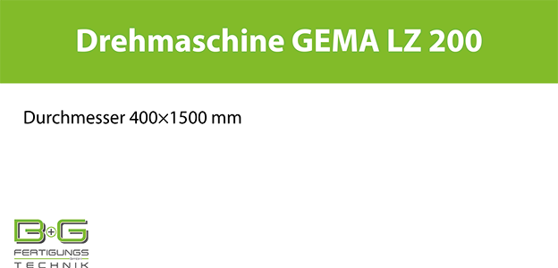 Drehmaschine GEMA