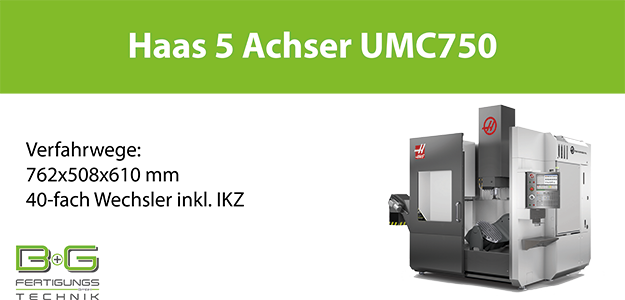 Haas UMC 750