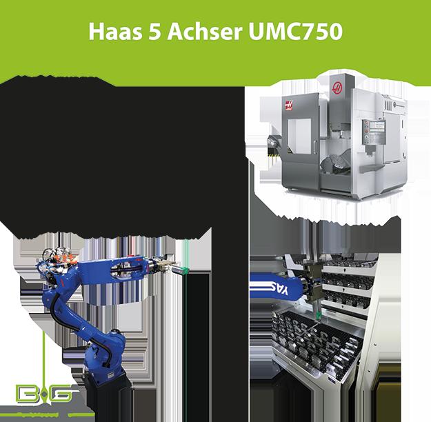 Haas UMC 750 Automation